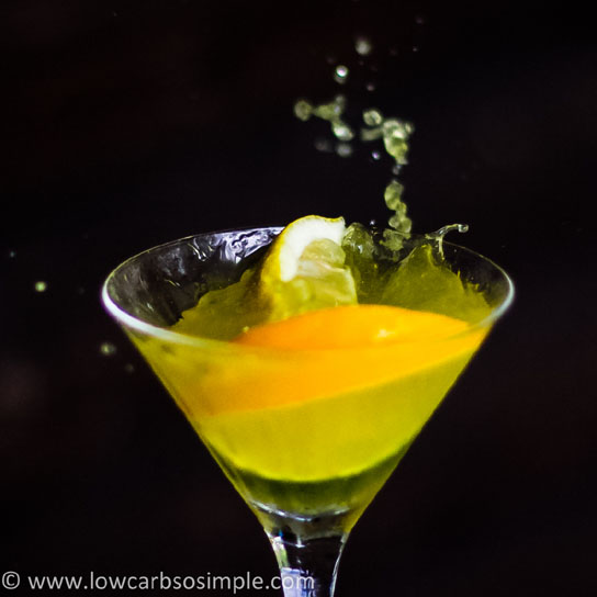Citrus Explosion Martini | Low-Carb, So Simple!