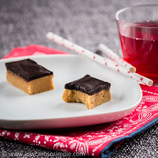 Palatable Peanut Butter Bars | Low-Carb, So Simple!